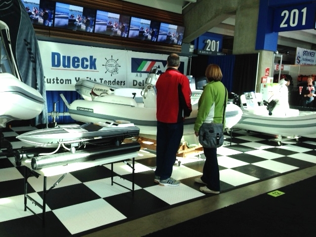 Dueck Marine at Vancouver International Boat Show