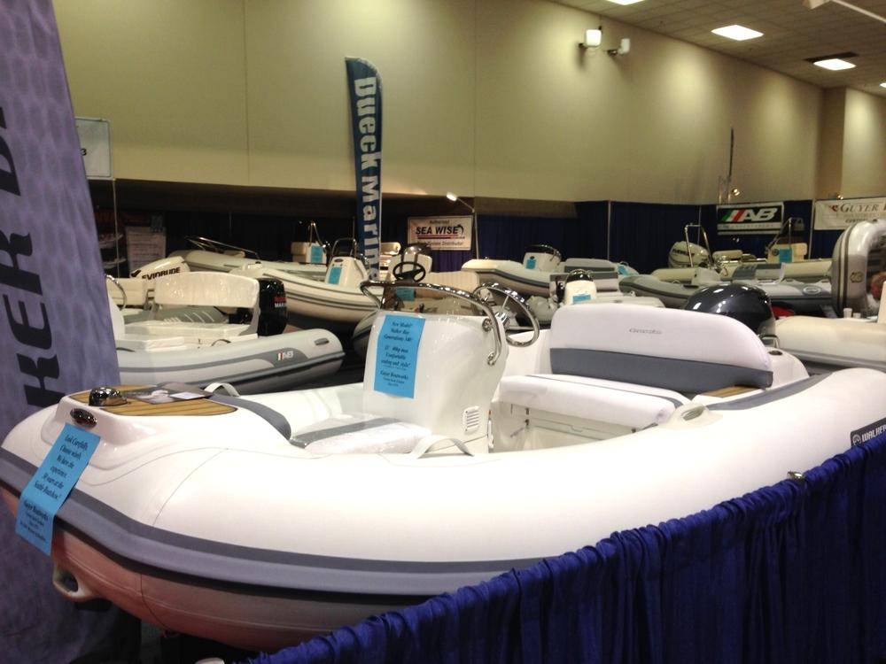 Walker Bay rigid inflatable boat