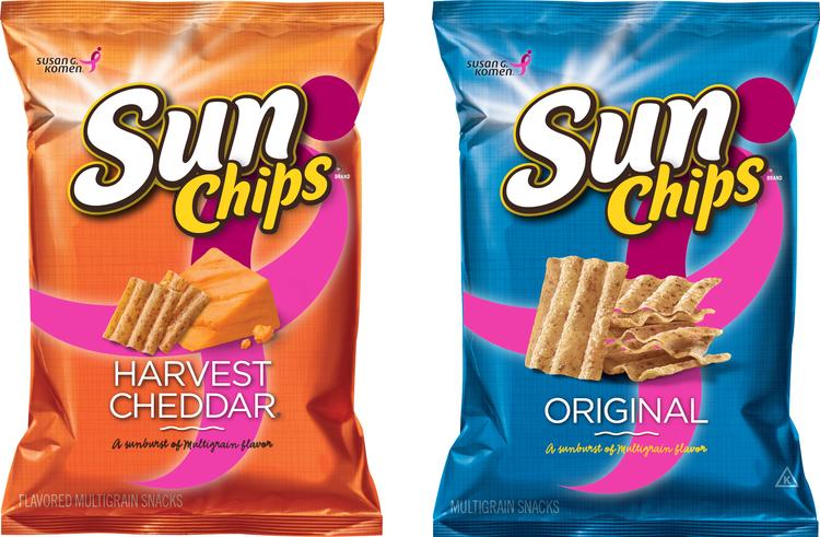 Promotion Sunchips Komen Partnership Full Design Colleen