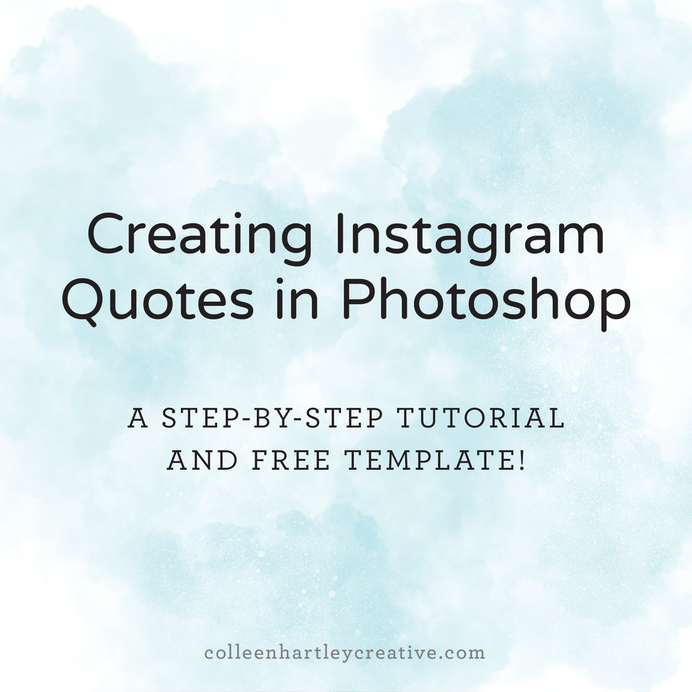 InstagramQuotesinPhotoshop
