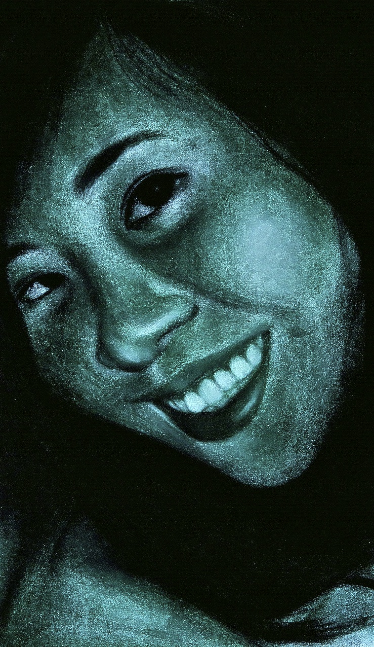Self-Portrait, 2008  Pastel on Paper