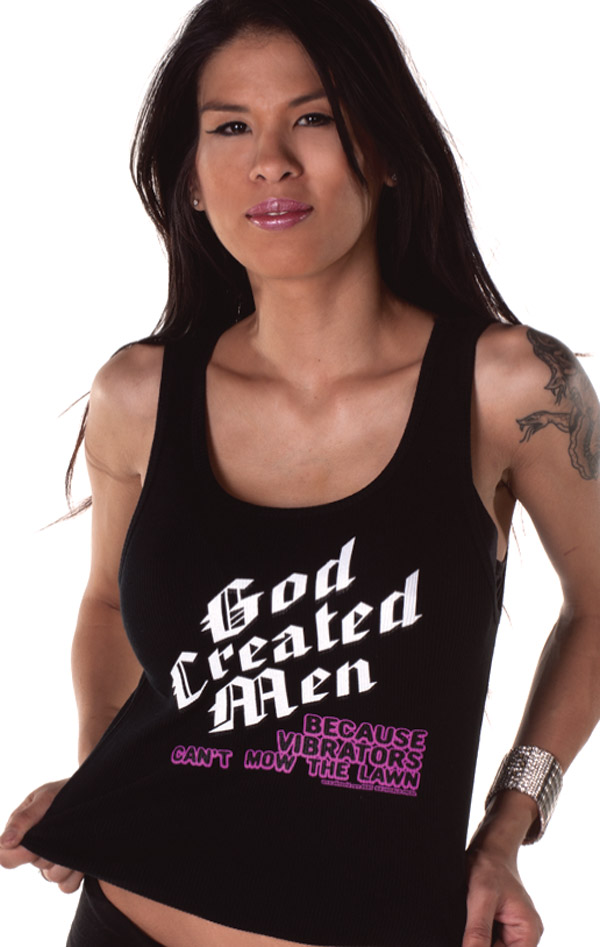 6196AG-GOD-CREATED-MAN-BECAUSE-VIBRATORS-CANT-MOW-THE-LAWN-Womens-Top-SIK-WORLD.jpg
