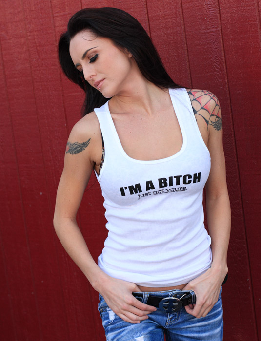 Funny_Rude_Womens_Tee_Shirts_IM_A_BITCH_JUST_NOT_YOURS_Sik_World-Cami_915.jpg
