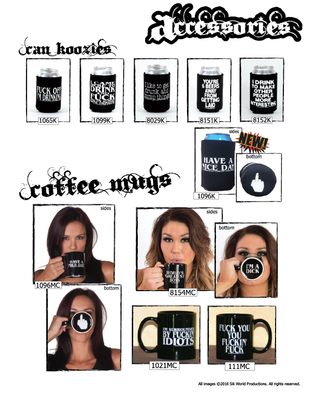Sik World Catalog 2015 Mugs & Koozies