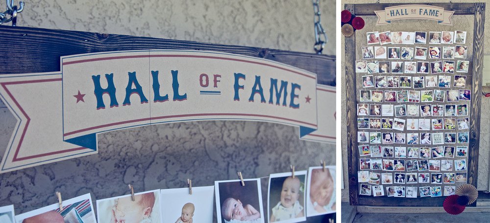 "Love this idea for a ""Hall of Fame"" -- all the photos of the last year!"