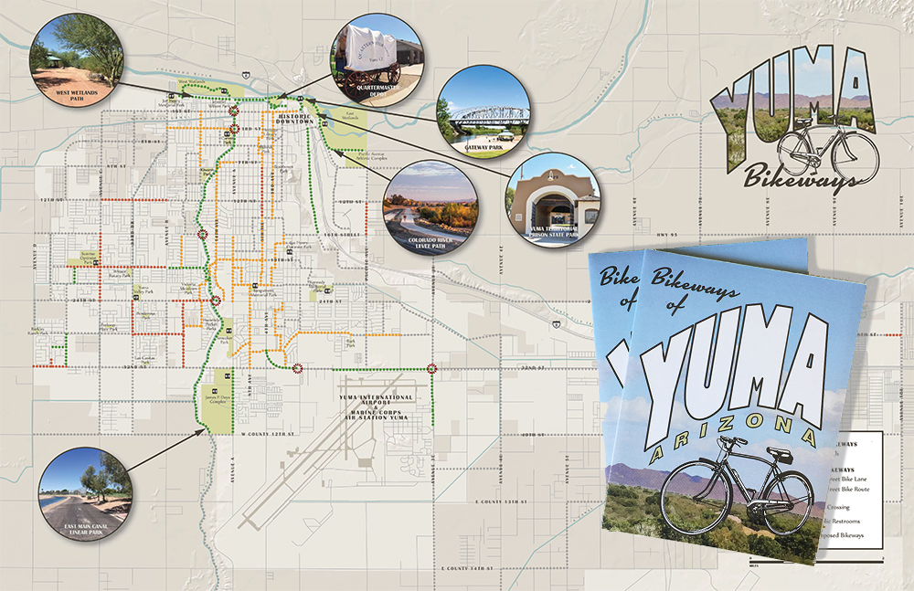Yuma Bikeways Map Naomi Leeman