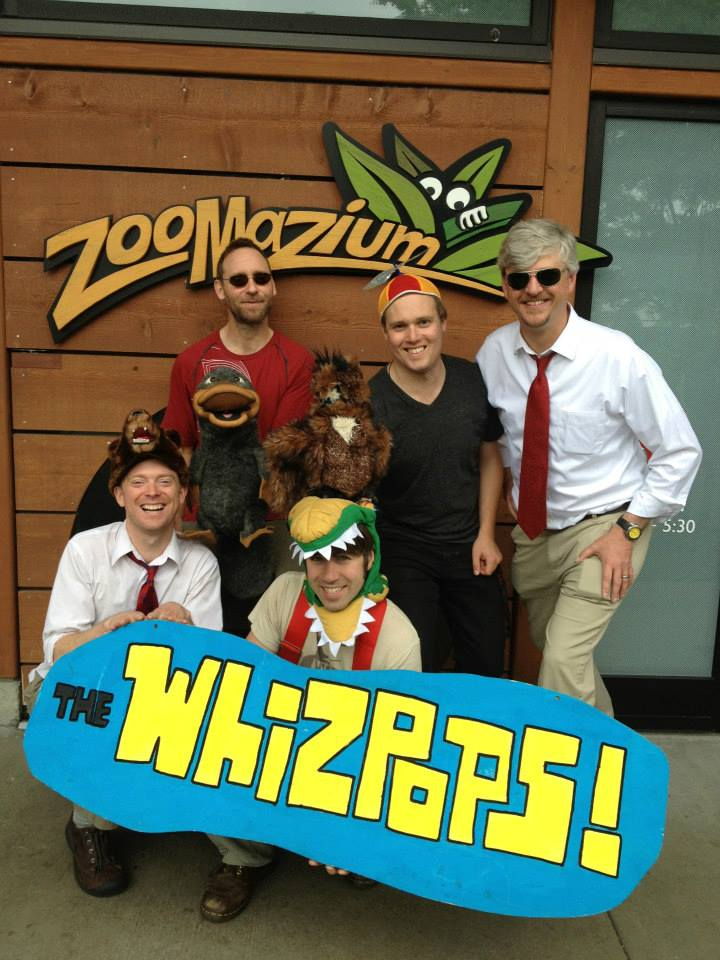 The Whizpops on their Seattle Tour!