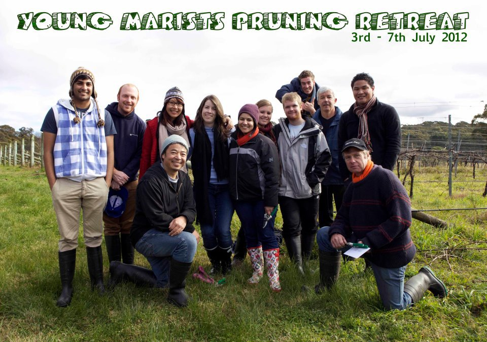 Each year, Brothers and Lay Marists accompany young people at the Marist pruning retreat at the Hermitage, Mittagong.