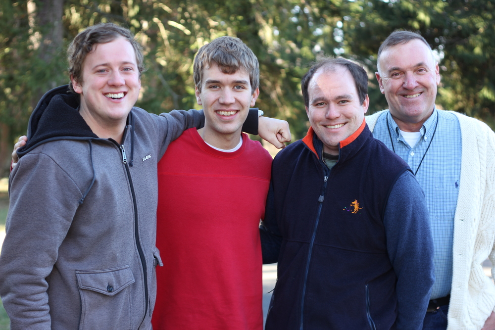 Marist Postulants with Br Rob Clark, Director of Formation in Esopus, New York.