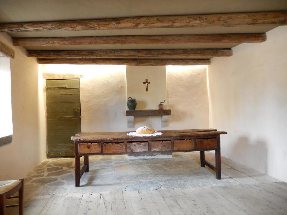 The table Marcellin built. La Valla, France.
