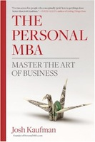 The Personal MBA by Josh Kaufman-pocket-changed