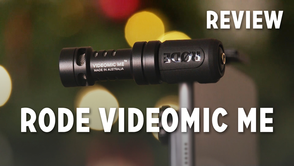 Rode Videomic Me Review Caleb Wojcik