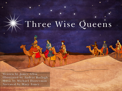 Three Wise Queens Cover