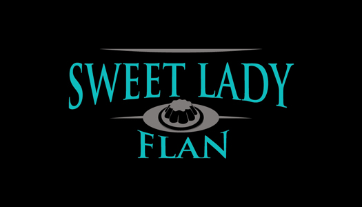 Now serving Sweet Lady Flan
