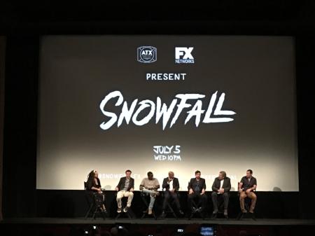 Snowfall post-premiere panel