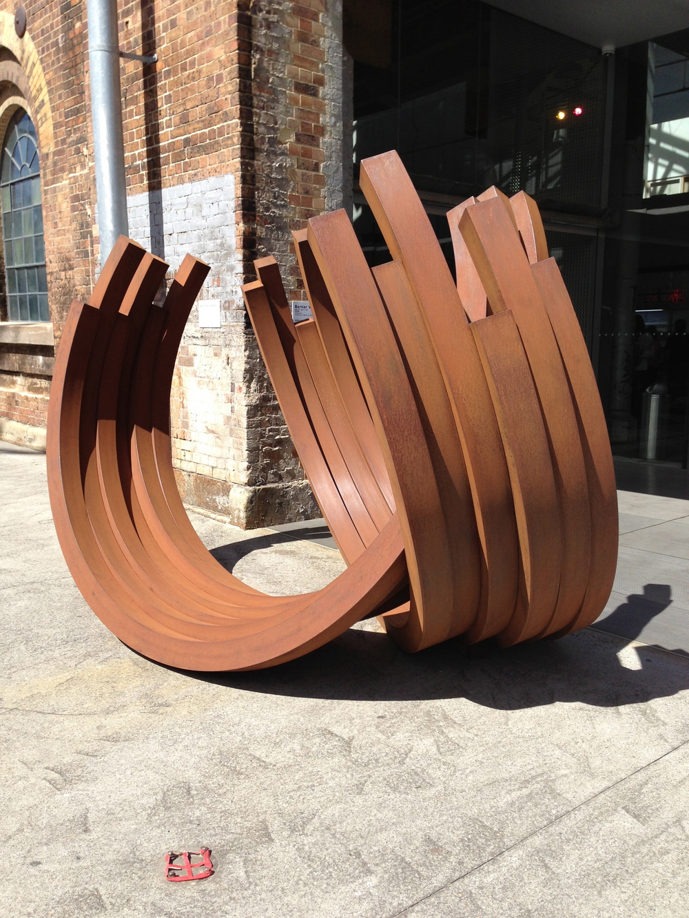 Bernar Venet at Carriageworks, Art Plural, Singapore