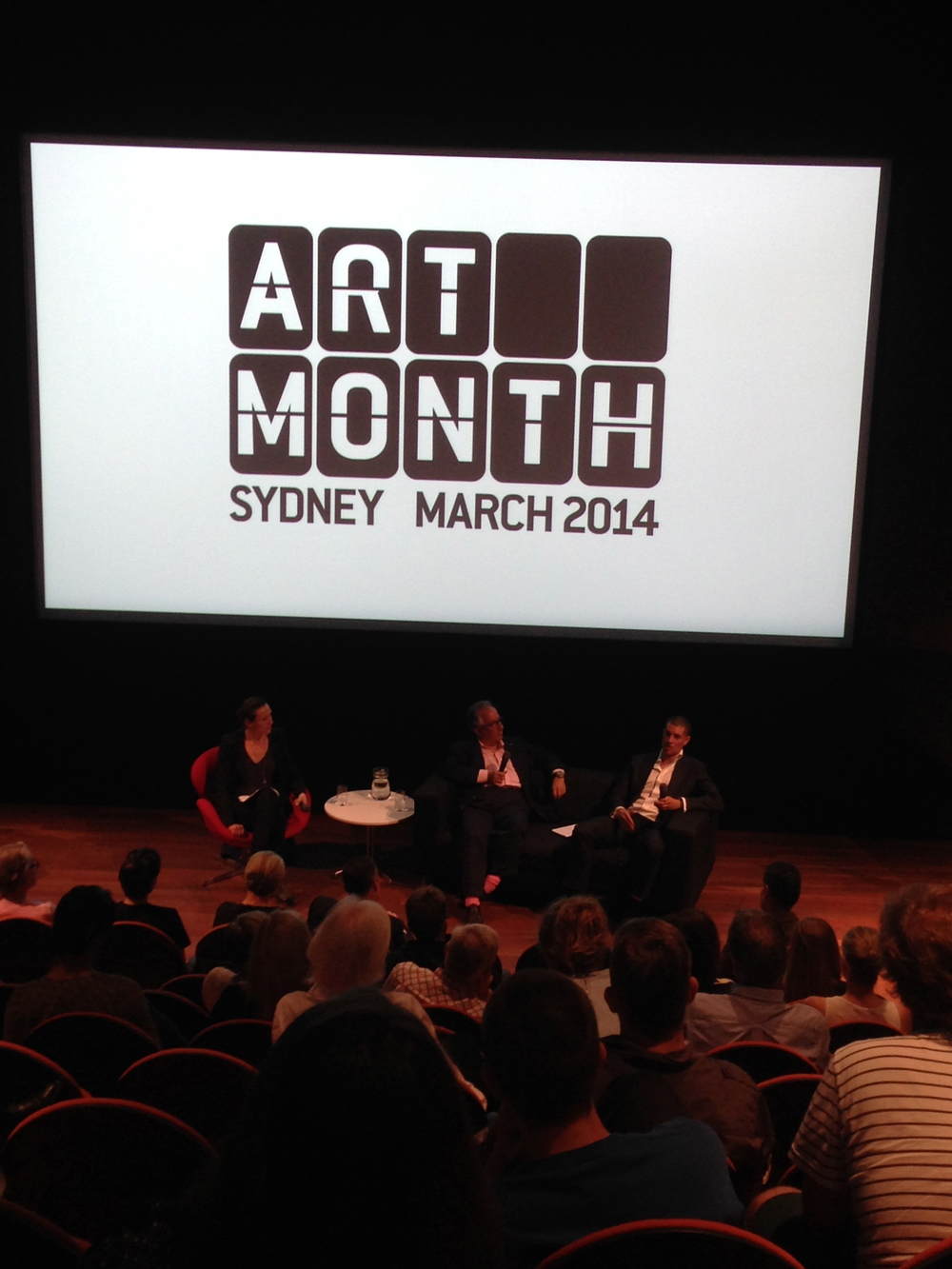 Simon Mordant and James Roland in conversation @ the MCA