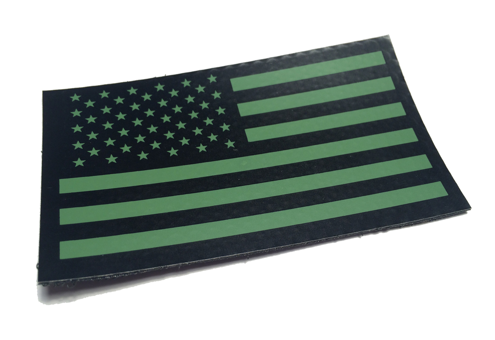 ad9df184d88 Od Green Us Ir Infrared USA Flag Military Morale Patch (PCX)