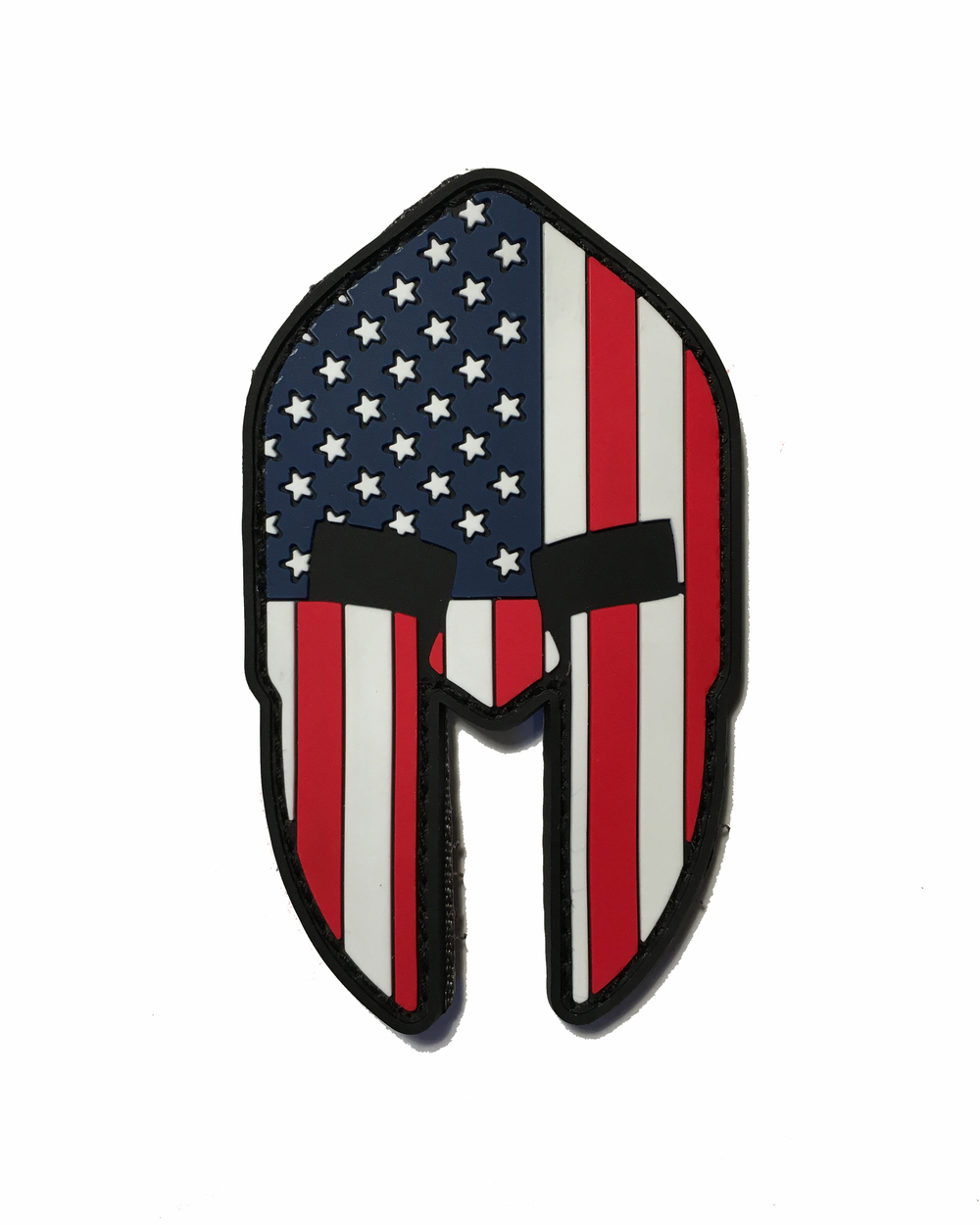 The american spartan helmet come and take it 2x3 pvc for Spartan mask template