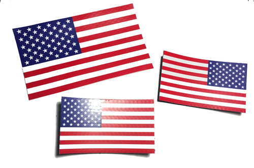 02dfd8dd83e Full Color (white light reflective) US Flag uniform Patch USA Military  (choose size)