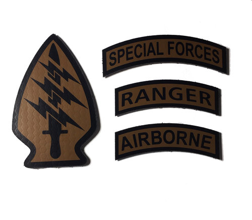 71c98603830 Infrared Reflective Coyote   Spice Brown SPECIAL FORCES (choose patch or  set)