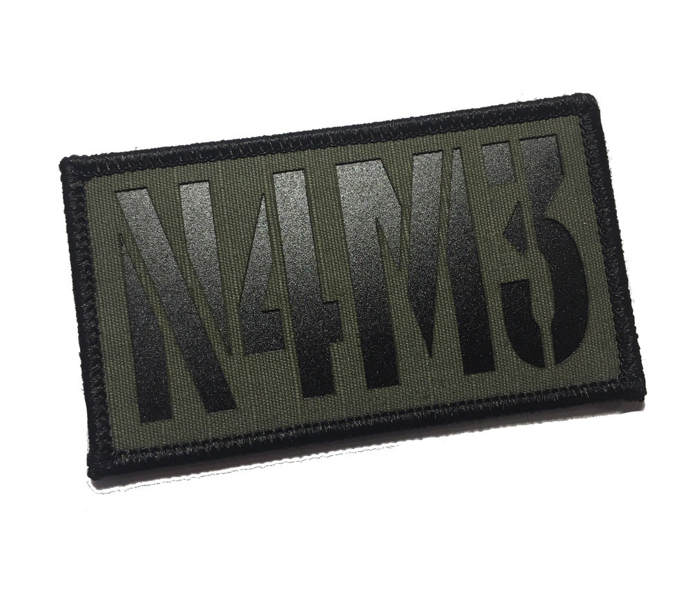 We do custom call sign patches! 25 patch min