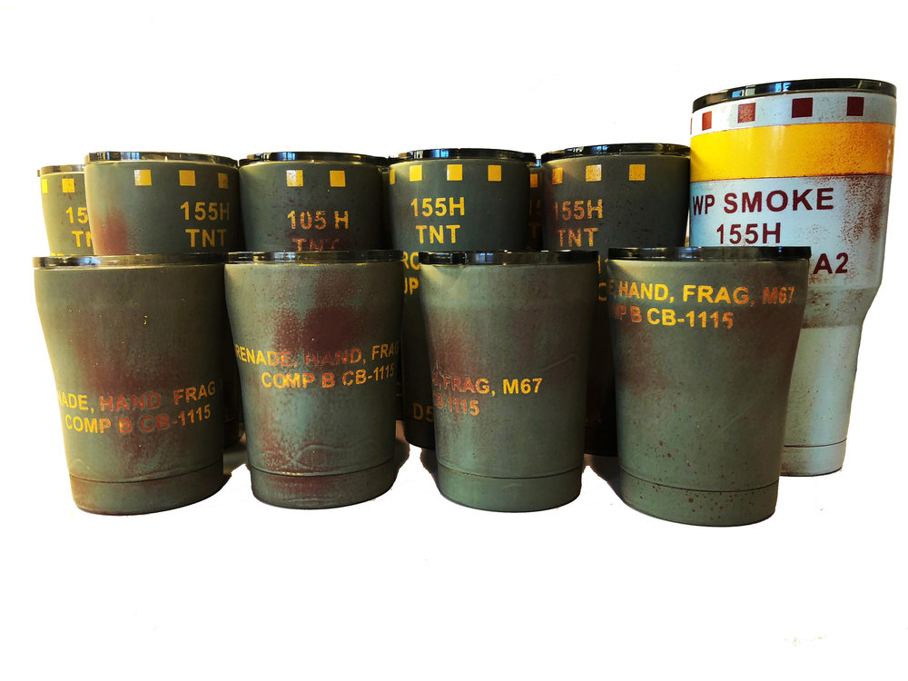 "Military morale patriot Patch hook//Loop The American M67 Grenade Frag 3/"" PVC"
