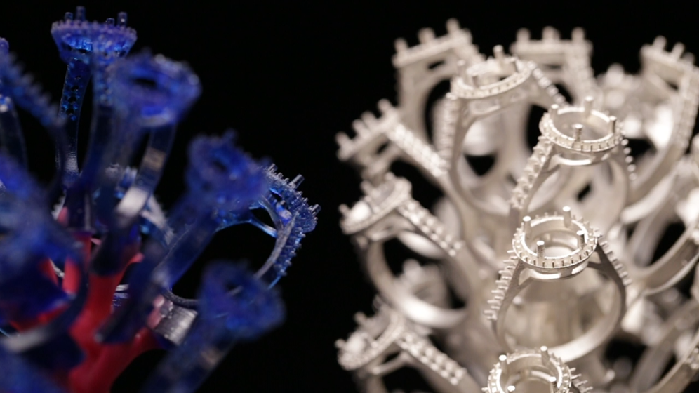 Rubicon 3D printing and direct casting