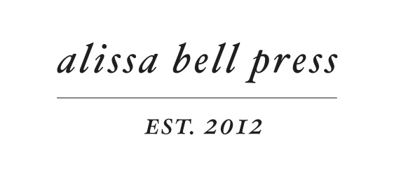 Alissa Bell Press | letterpress printing and design studio in Los Angeles focused on stationery, wedding invitations, & business cards.