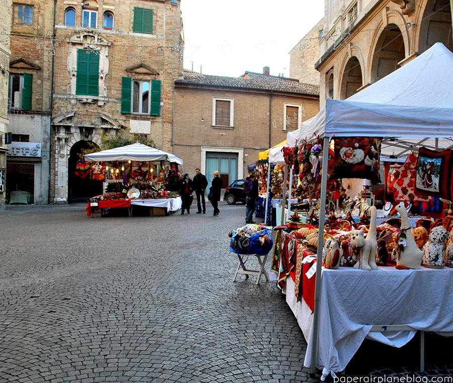 Macerata's Christmas market. (2011)