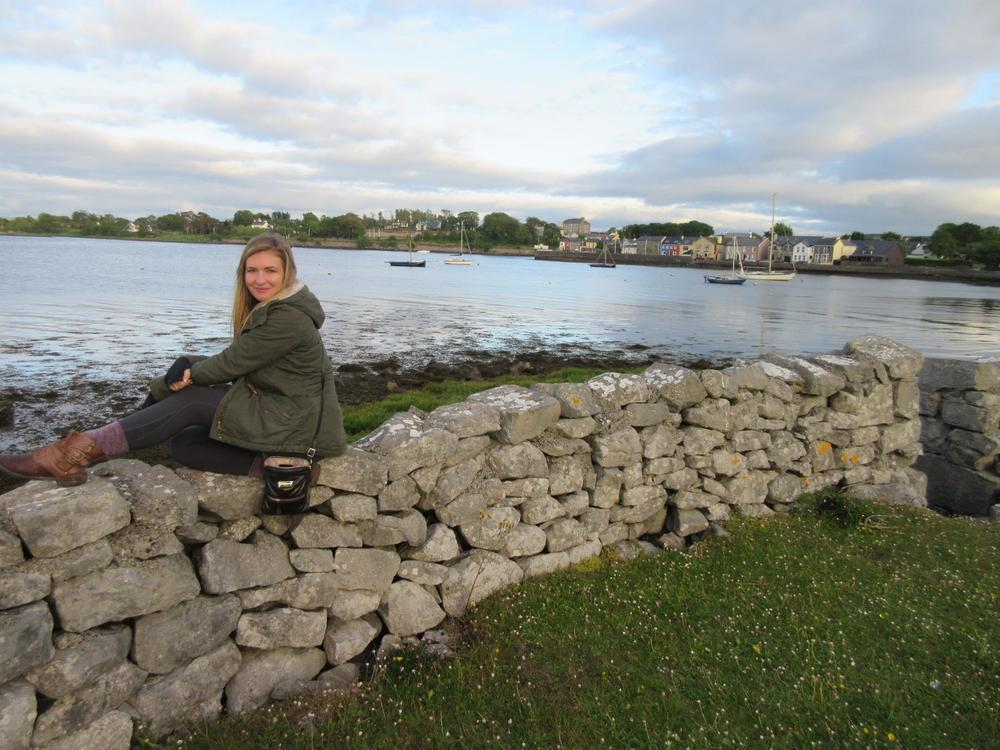 Eva on her travels to Ireland. | Photo courtesy of Eva S.