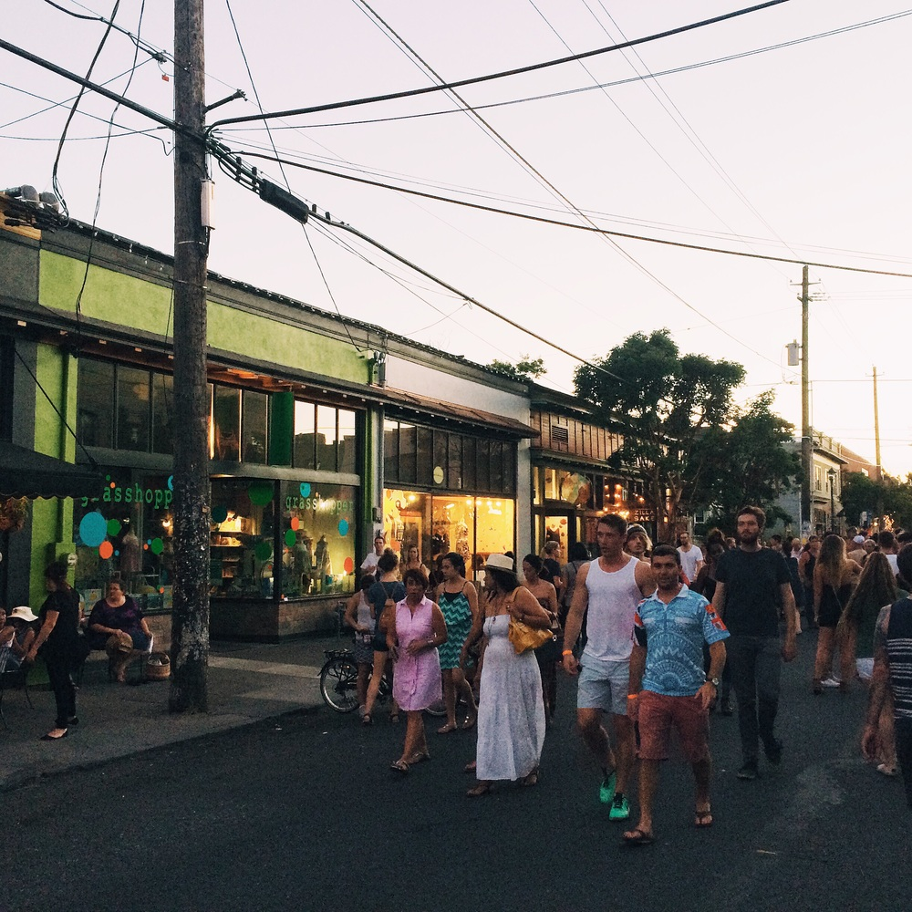 Last Thursday in the Alberta Arts District is a monthly, lively street fair that's not to miss while the weather is good in Portland.