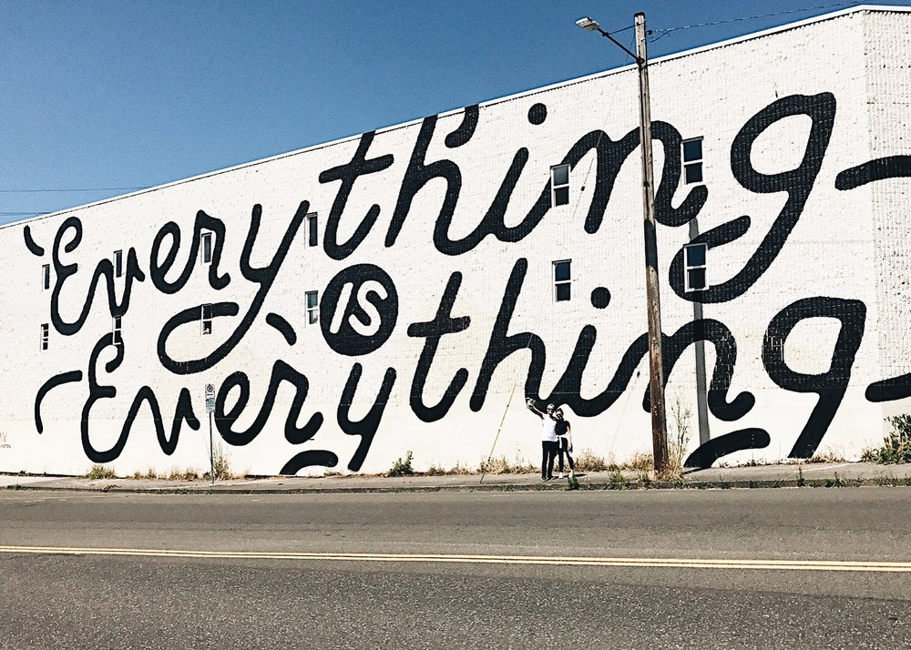 Questival Portland : FOUND A FAVORITE PIECE OF STREET ART IN PORTLAND.