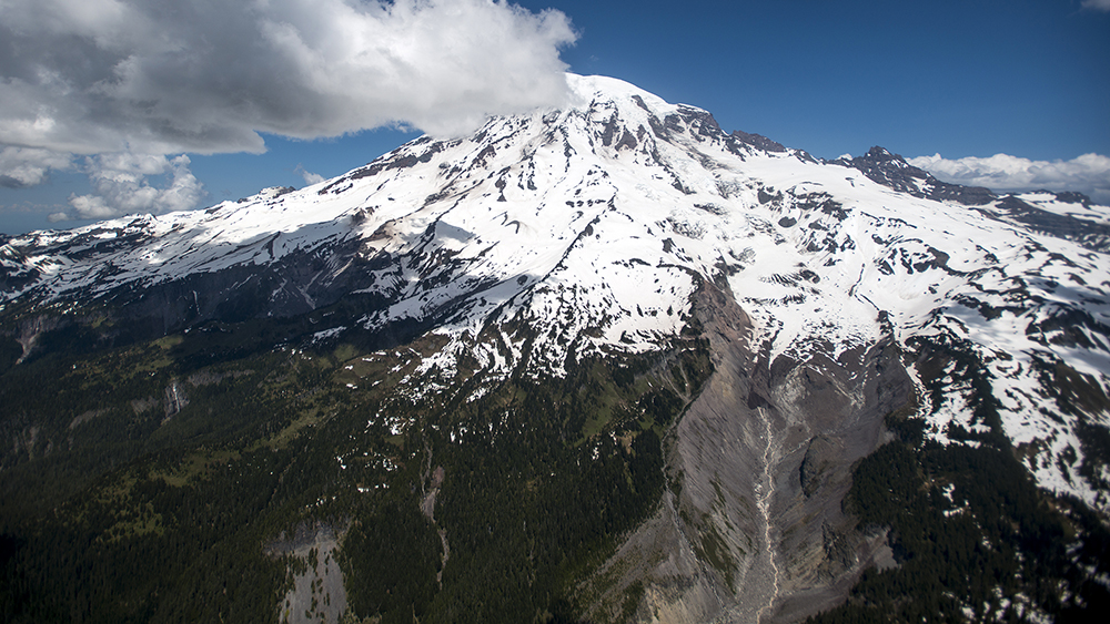 South side of Mount Rainier
