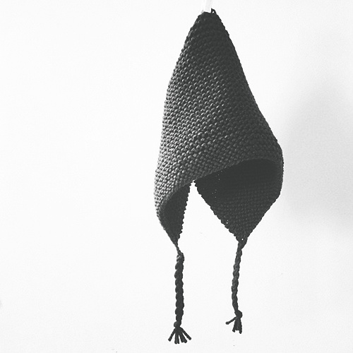 hood hat by pink brutus knits -