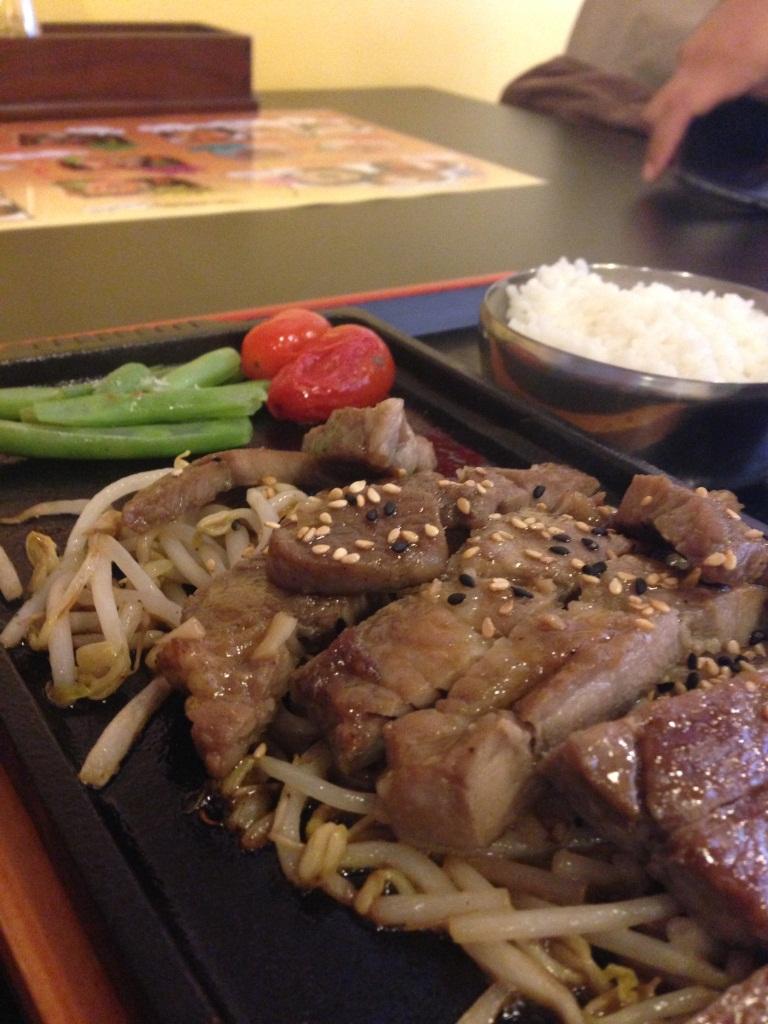 Pork Teppanyaki