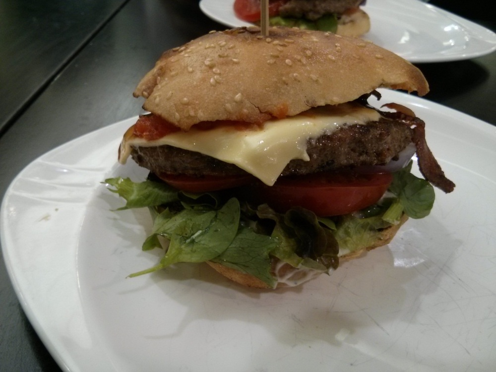 Cheese Burger with Bacon