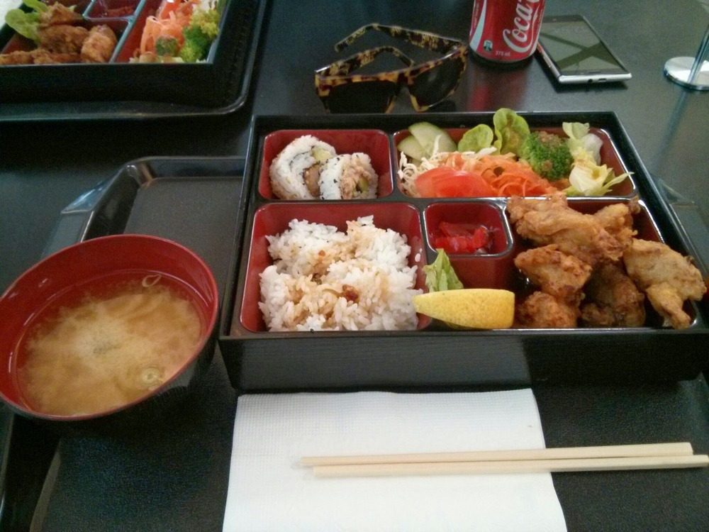 Chicken Karaage Bento Box