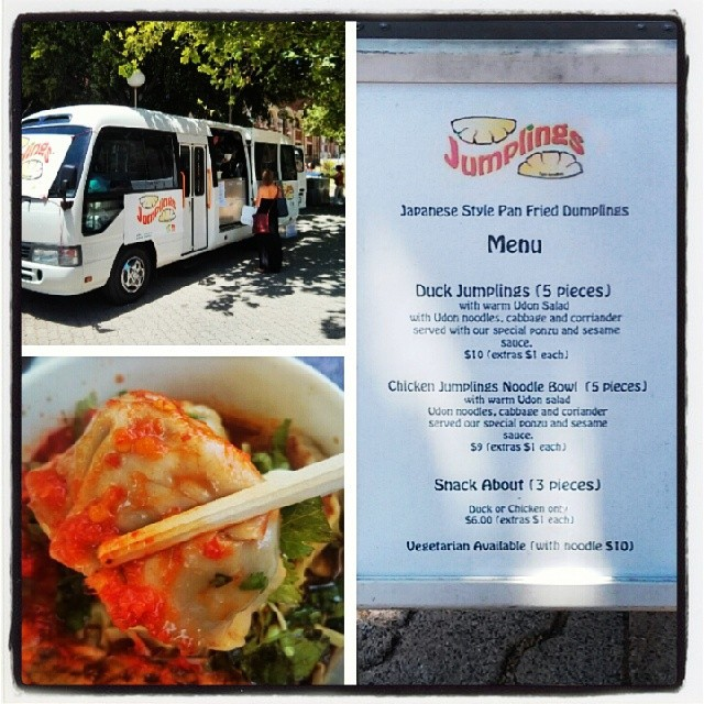 Jumplings! #perthculturalcentre #dumplings #cheapeats #foodtruck