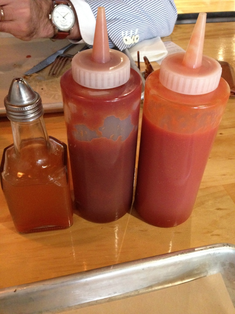 Vinegar, BBQ Sauce & Hot Sauce