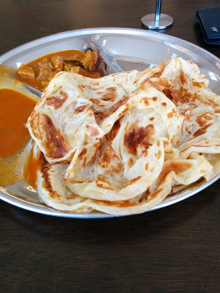 2xRoti Prata + Mutton Curry Set