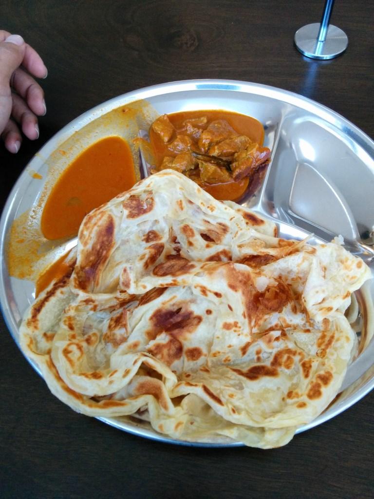 2xRoti Prata + Mutton Curry Set