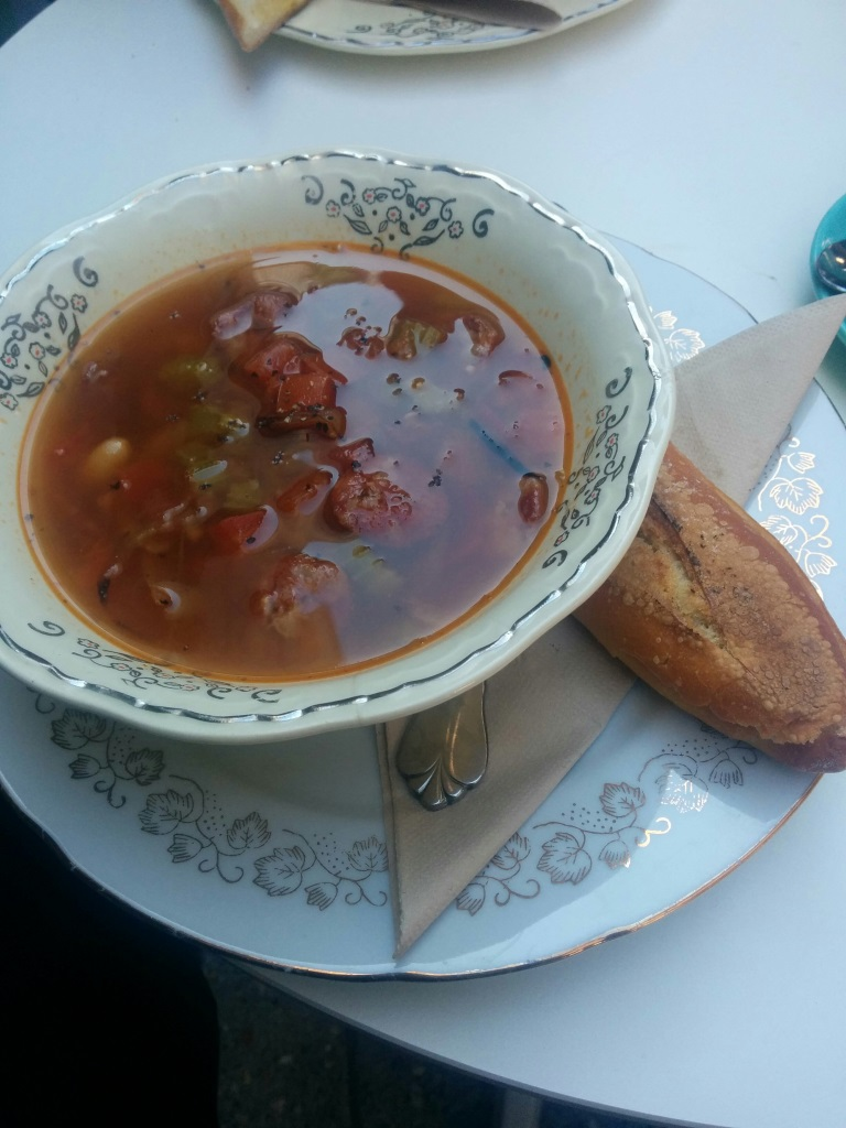 Chorizo and Bean Soup