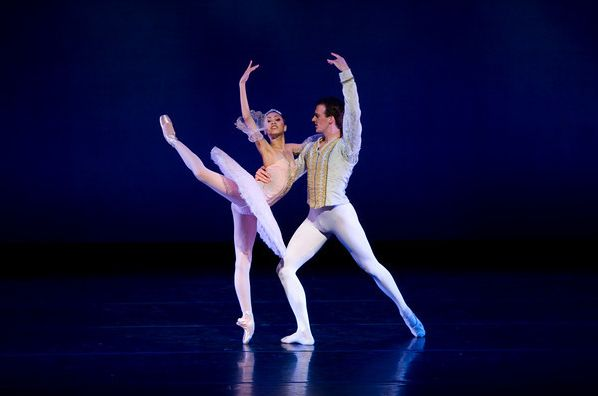 Jeraldine Mendoza dances Sugar Plum (Nutcracker 2010)
