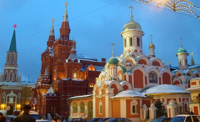 Near Red Square