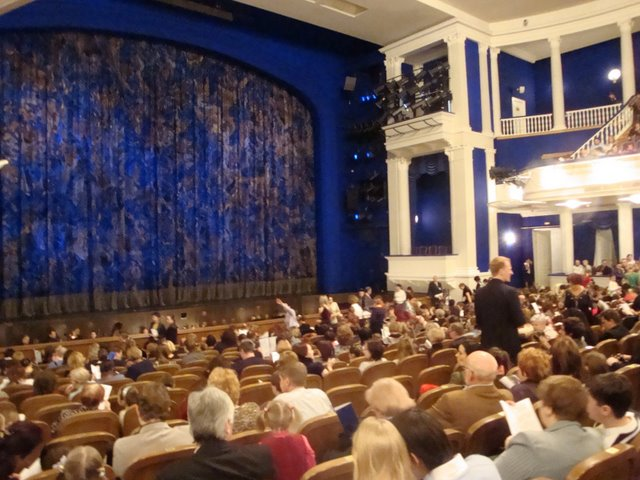 Stanislavsky Theater before Swan lake