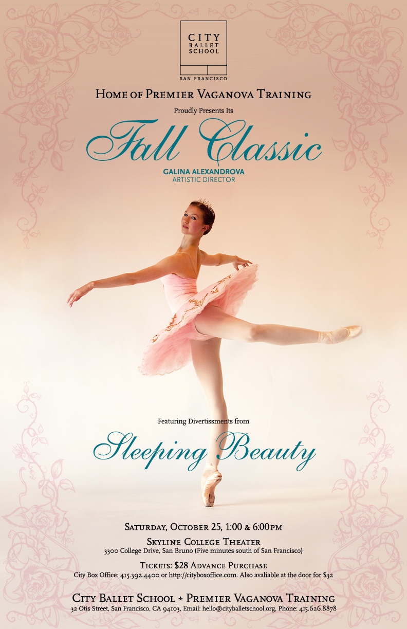 Fall Classic At Skyline Theater 1 00pm City Ballet San Francisco