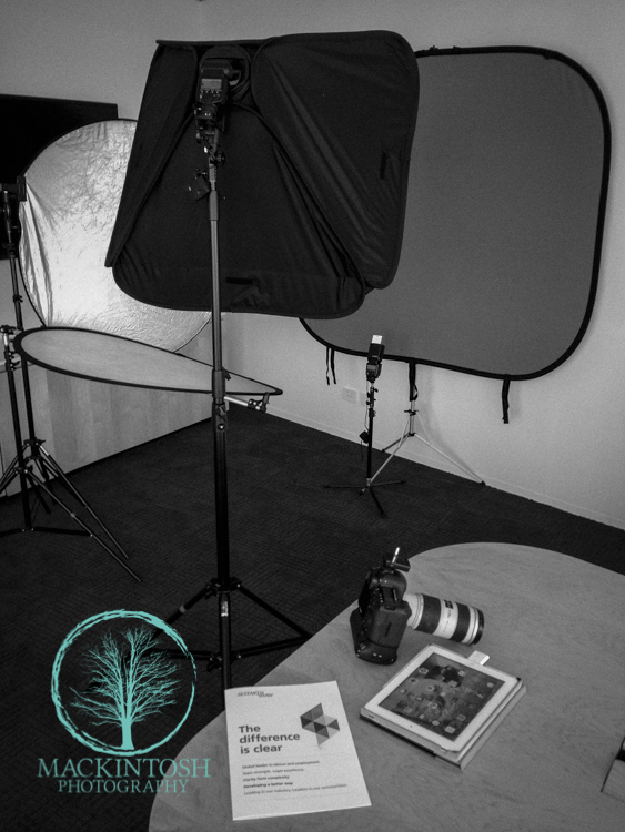 Photography Studio Set Up