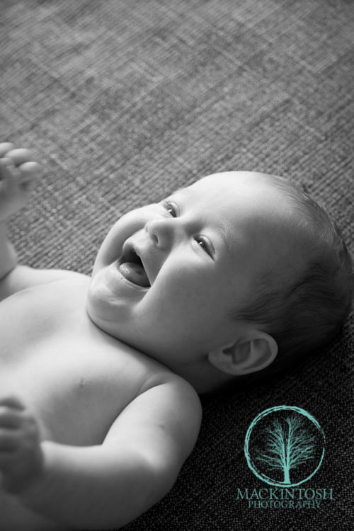 Smiling Baby photographs
