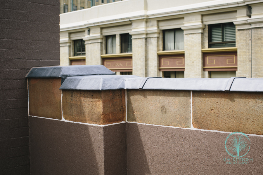 Photograph of Lead Capping King street Sydney